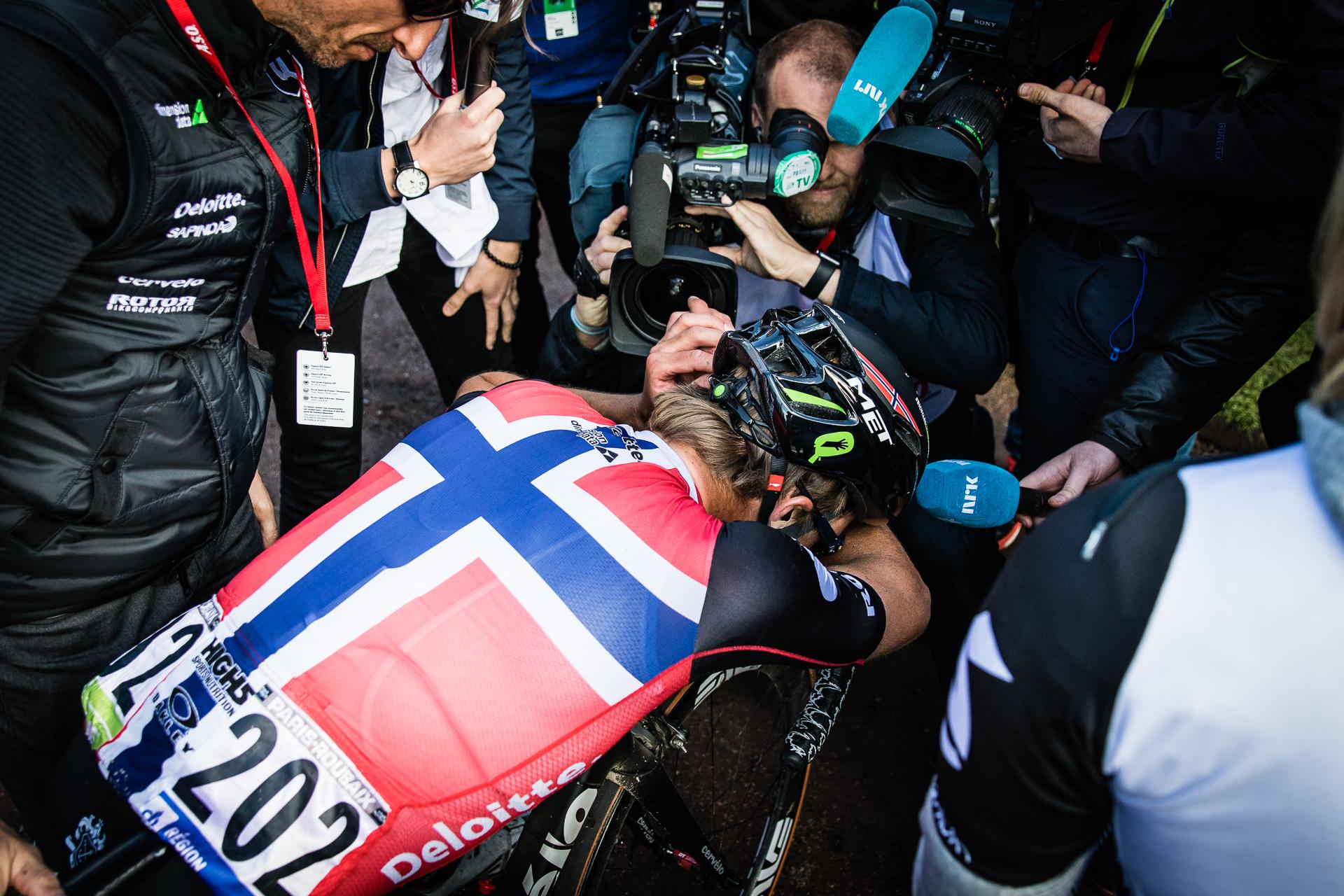 Edvald Boasson Hagen Roubaix