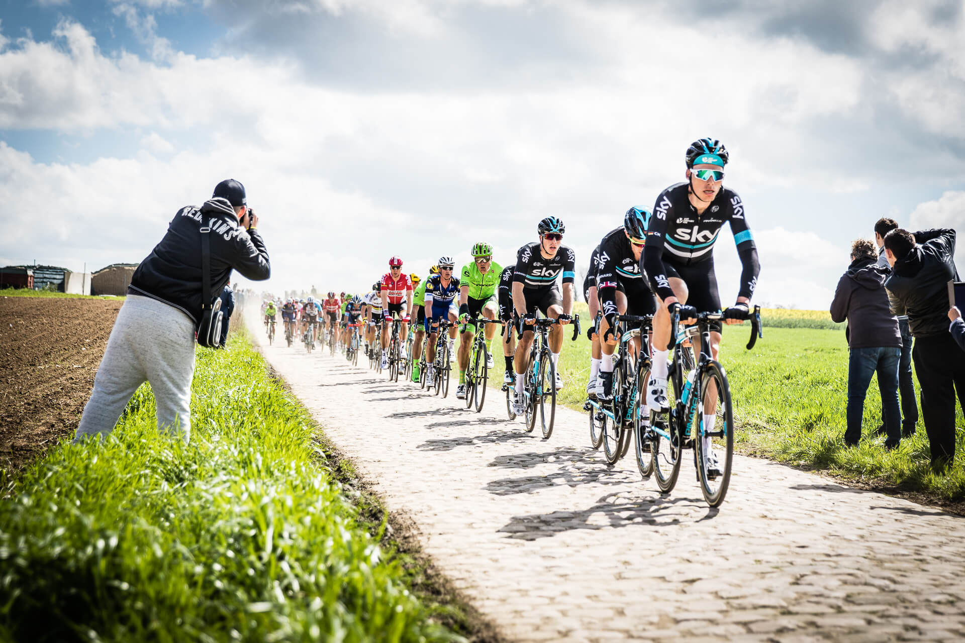 Team Sky Paris-Roubaix 2016
